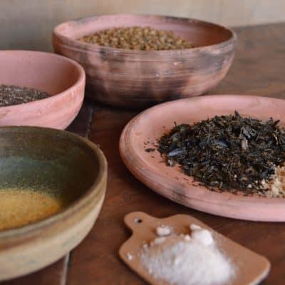 Semillas, algas y sabor