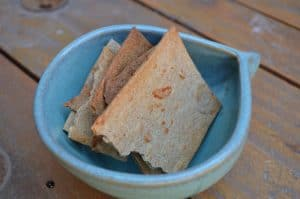 Galletas queso con masa madre