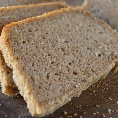 Pan de arroz fermentado, sin gluten