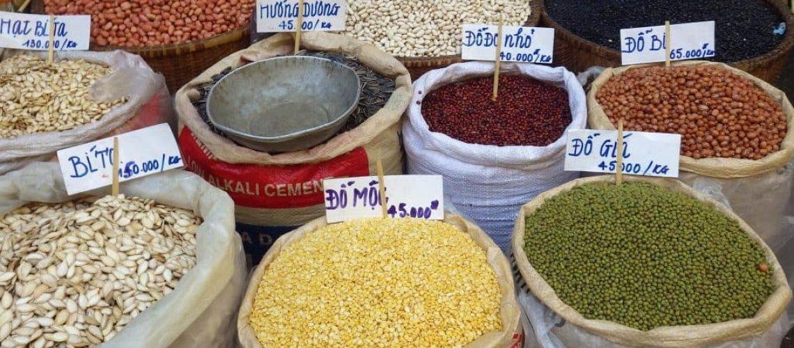 Foto bolsones de granos