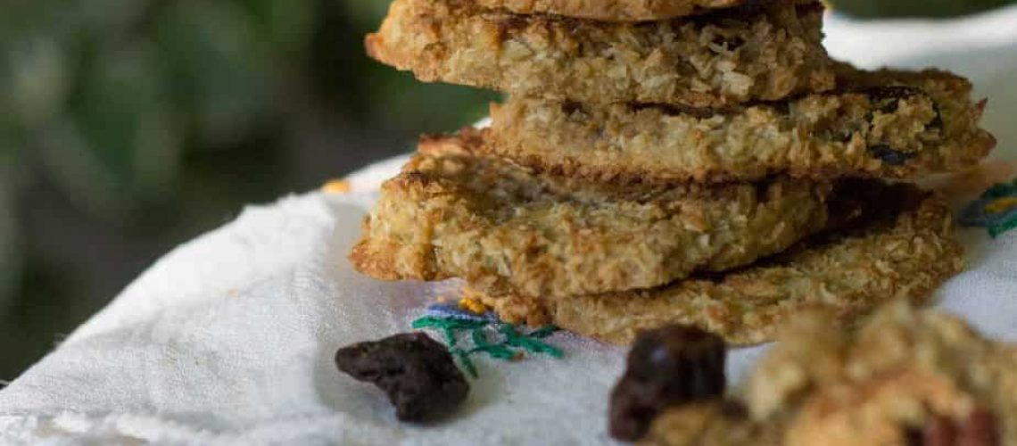 Galletitas de harina de avena:quinoa