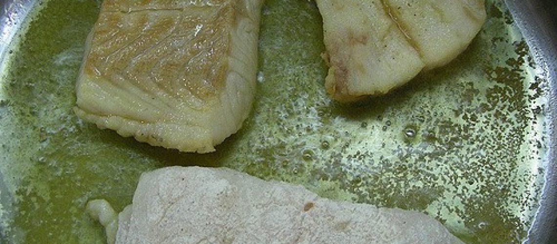 Trozos de filet de pescado